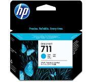 HP 711 cyaan inktcartridges, 29 ml, 3-pack