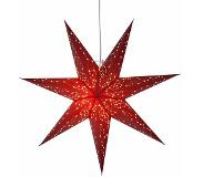 Best Season Galaxy - decoratieve papieren ster in rood