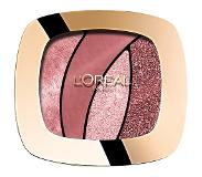 L'Oréal Paris Make-Up Designer Color Riche Les Ombres - S10 Seductive Rose - Oogschaduw