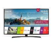 "LG 49UJ635V 49"" 4K Ultra HD Smart TV Wi-Fi Musta LED-televisio"