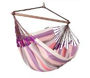 LA SIESTA Lounger hangstoel outdoor - Domingo Plum - LA SIESTA (DOL21-7)