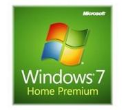 Microsoft Windows 7 Home Premium, SP1, 64-bit, 1pk, DSP, OEM, DVD, ENG