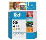 HP 88 zwarte en gele Officejet printkop