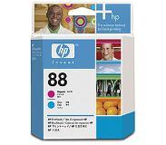 HP 88 magenta en cyaan Officejet printkop