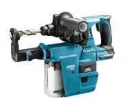 Makita DHR242ZJV 18V Li-Ion Accu SDS-plus combihamer incl. stofafzuiging body in Mbox - 2J - koolborstelloos