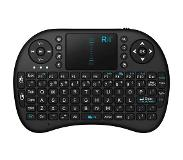 Rii Mini Wireless Keyboard i8 RF Draadloos QWERTY Engels Zwart