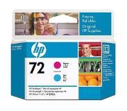 HP Nr. 72 magenta en cyaan printkop