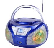 Audiosonic Cd-1561 Stereo Radio - Blauw