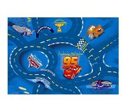 Disney Pixar Cars Disney Cars Blue Speelkleed 95x133cm