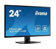 "Iiyama ProLite X2481HS-B1 23.6"" Zwart Full HD PC-flat panel"
