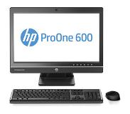 "HP ProOne 600 G1 3.4GHz i3-4130 21.5"" 1920 x 1080Pixels Zwart Alles-in-één-pc"