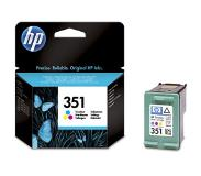 HP 351 originele drie-kleuren inktcartridge