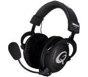 QPAD QH-85 Gaming Headset musta