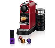 Krups Nespresso CitiZ & Milk - Cherry Red XN7605