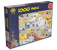 Jumbo Jan van Haasteren De Chocolade fabriek Puzzel (1000) + Blik