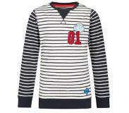 We fashion gestreepte sweater Donkerblauw 134/140
