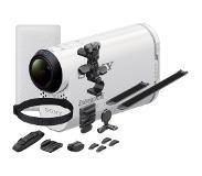 Sony Action Cam AS100V, jossa Wi-Fi® ja GPS