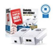 Devolo dLAN 1200+ WiFi ac Starter Kit 1200Mbit/s Ethernet LAN Wi-Fi Wit 2stuk(s) PowerLine-netwerkadapter