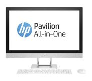 "HP Pavilion 27-r085nd 2.9GHz i7-7700T 27"" 1920 x 1080Pixels Wit Alles-in-één-pc"