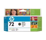 HP Nr. 72 matzwarte inktcartridge met Vivera inkt, 130 ml