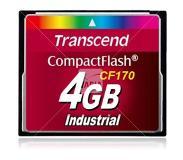 Transcend TS4GCF170 4GB CompactFlash Class 6 flashgeheugen