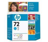 HP Nr. 72 cyaan inktcartridge met Vivera inkt, 69 ml