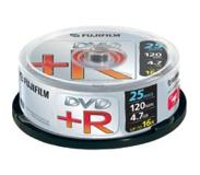 Fujifilm DVD+R 4.7GB 25-spindle 16x 4.7GB 25stuk(s)