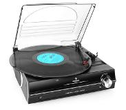 Auna 928 Belt-drive audio turntable Musta