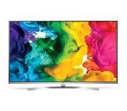 "LG 55UH850V 55"" 4K Ultra HD Compatibilité 3D Smart TV Wifi Blanc écran LED"