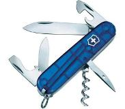 Victorinox Spartan 1.3603.T2 Zwitsers zakmes Aantal functies: 12 Blauw (transparant)
