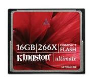 Kingston Technology 16GB Ultimate CompactFlash 16GB CompactFlash Flash flashgeheugen