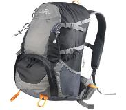 Dutch Mountains Backpack Merwede Rugzak 40 Ltr Rugventilatie Regenhoes Zwart