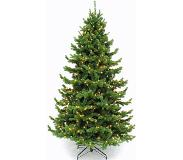 Triumph tree kunstkerstboom led sherwood spruce deluxe maat in cm: 365 x 221 1224led groen