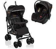 Baninni Buggy Messina 2in1 Night Edition zwart BNST027-BK