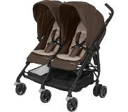 Maxi-Cosi Maxi Cosi Dana For2 - Duo buggy - Nomad Brown (Black Frame)