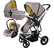 FreeON Smart X Brown Combi Kinderwagen (incl. autostoel)