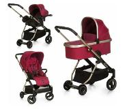 Icoo combi kinderwagen, »Acrobat XL Plus Trio Set Diamond Ruby«