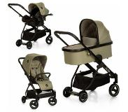 Icoo combi kinderwagen, »Acrobat XL plus trio set Diamond Olive«