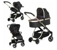 Icoo combi kinderwagen, »Acrobat XL Plus Trio Set Diamond Caviar«
