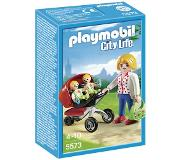 Playmobil City Life tweeling kinderwagen