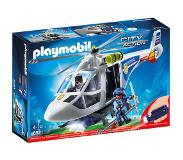 Playmobil City Action politiehelikopter met LED-zoeklicht 6921