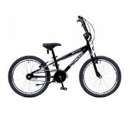 Bike Fun Cross Tornado 20 Inch 40 cm Junior Terugtraprem Zwart