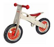 Simply For Kids Houten Loopfiets Simply Rood