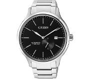 Citizen Horloges Ecodrive Citizen NJ0090-81E Automatic horloge Titanium Zwart