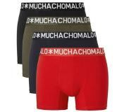 Muchachomalo Boxers Light Cotton 4-pack Heren - Multi - S