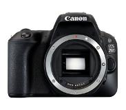 Canon EOS 200D + 18-55mm iS II SLR camerakit 24,2 MP CMOS 6000 x 4000 Pixels Zwart