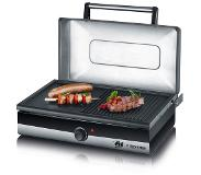 Severin PG2368 SMART-LINE barbecue-grill met deksel