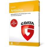 G DATA Antivirus 2018 3gebruiker(s) 1jaar Base license Nederlands
