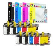Compatriot Brother MFC-J650DW inkt cartridge | Multi-color 10-pack LC123