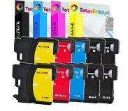 Compatriot Brother MFC-J415W inkt cartridge | Multi-color 10-pack LC985